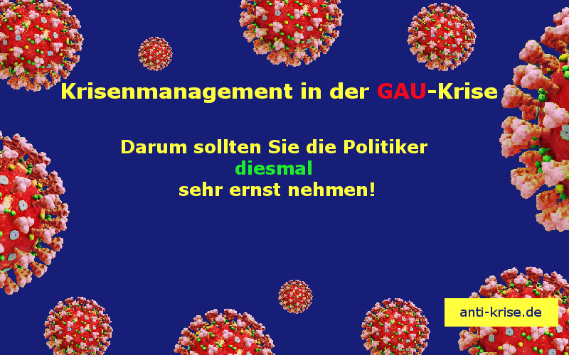 Krisenmanagement in der GAU-Krise